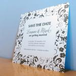 Save the Date Card - Blosso..