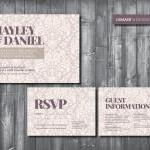 Wedding Invitation Suite - ..
