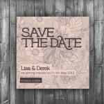 Save the Date Card - Digita..