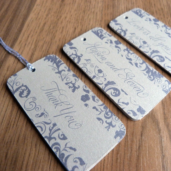 Wedding Gift Thank You Tags : Wedding Favor Tag / Thank You Tag / Wedding Gift Tag - Blossom Wedding ...