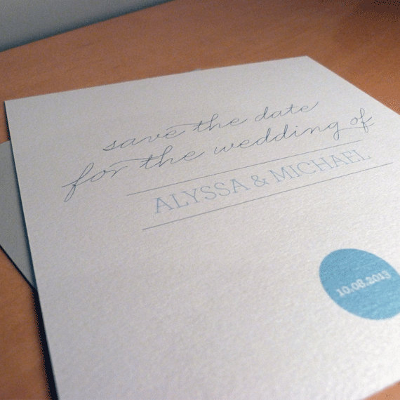 Save the Date Card - Adore Wedding Range - Wedding Invitation
