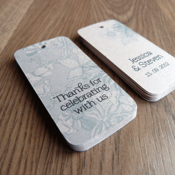 Thank You Wedding Gift Tags : Wedding Favor Tag / Thank You Tag / Wedding Gift Tag - Bloom Wedding ...